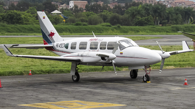 HK-4927 - Piper PA-31-350 Navajo Chieftain - AeroPaca