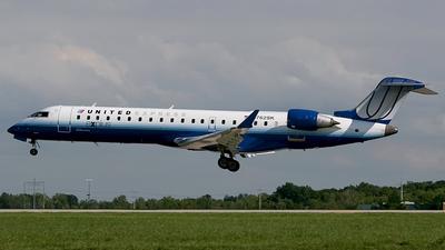 N762SK - Bombardier CRJ-701ER - United Express (SkyWest Airlines)