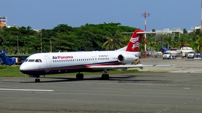 HP-1896PST - Fokker 100 - Air Panama