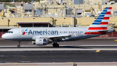 N763US - Airbus A319-112 - American Airlines