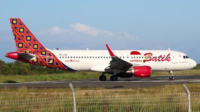 PK-LAG - Airbus A320-214 - Batik Air