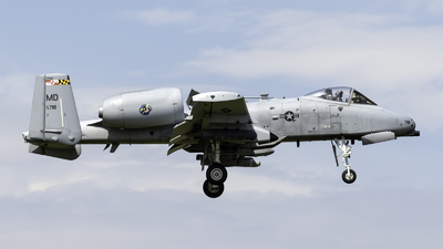 78-0718 - Fairchild A-10C Thunderbolt II - United States - US Air Force (USAF)