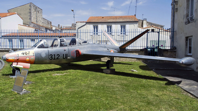 467 - Fouga CM-170 Magister - France - Air Force