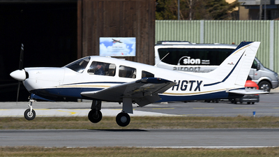 F-HGTX - Piper PA-28R-201T Turbo Cherokee Arrow III - Private