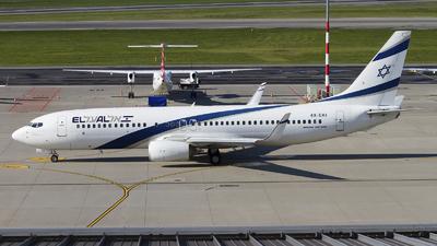 A picture of 4XEKI - Boeing 73786N - El Al - © Rafal Pruszkowski
