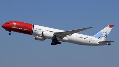 LN-LNJ - Boeing 787-9 Dreamliner - Norwegian Air Shuttle