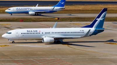 9V-MGQ - Boeing 737-8SA - SilkAir