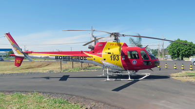 PP-BBM - Helibrás AS-350B2 Esquilo - Brazil - Military Firefighters