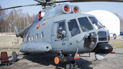 25 - Mil Mi-8T Hip - Lithuania - Air Force