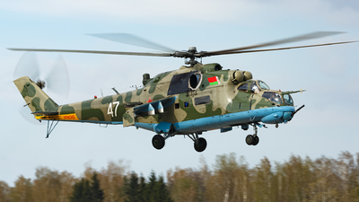 47 - Mil Mi-24R Hind D - Belarus - Air Force