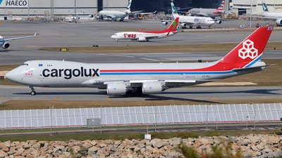 LX-VCJ - Boeing 747-8R7F - Cargolux Airlines International