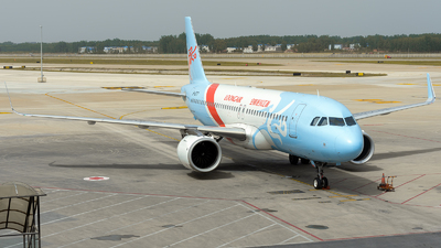 A picture of B1077 - Airbus A320251N - Loong Air - © ZGGG RWY01