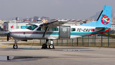 TC-CAU - Cessna 208 Caravan - Turkey - Turkish Aeronautical Association