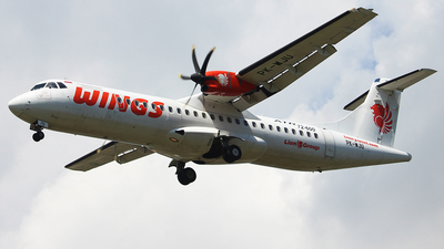 PK-WJU - ATR 72-212A(600) - Wings Air