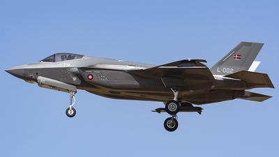 L-002 - Lockheed Martin F-35A Lightning II - Denmark - Air Force