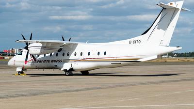 A picture of DCITO - Dornier 328110 - Private Wings - © Justin Fontugne