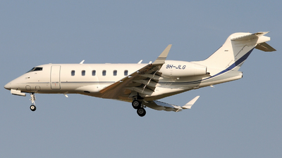 9H-JLG - Bombardier BD-100-1A10 Challenger 350 - TAG Aviation