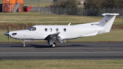A picture of HBFRX - Pilatus PC12 - Pilatus Flugzeugwerke - © Ian Howat