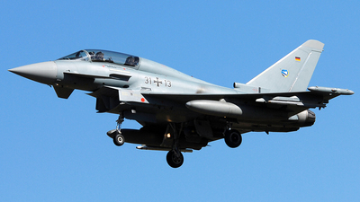 31-13 - Eurofighter Typhoon EF2000(T) - Germany - Air Force