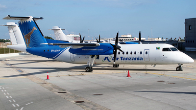 A picture of 5HMWF - De Havilland Canada Dash 8300 - [474] - © Buzu