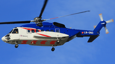 A picture of LNONO - Sikorsky S92A - Bristow Helicopters - © Witold Ozimek