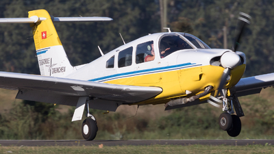 HB-PDU - Piper PA-28RT-201 Arrow IV - Segel und Motorfluggruppe Grenchen