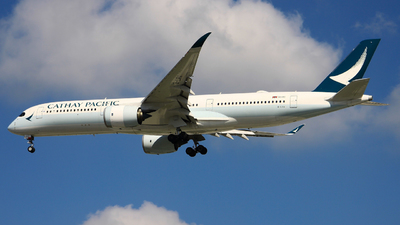 B-LRV - Airbus A350-941 - Cathay Pacific Airways