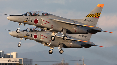 56-5738 - Kawasaki T-4 - Japan - Air Self Defence Force (JASDF)