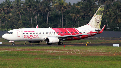A picture of VTAYB - Boeing 7378HG - Air India Express - ©  Rohit  Ramachandran