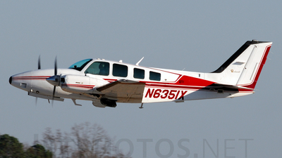 N6351X - Beechcraft 58 Baron - Private