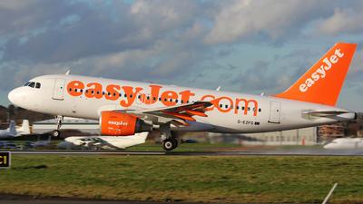 G-EZFG - Airbus A319-111 - easyJet