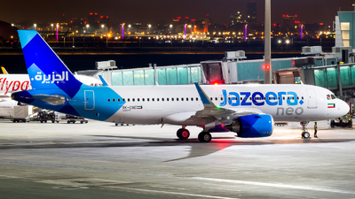 9K-CBD - Airbus A320-251N - Jazeera Airways
