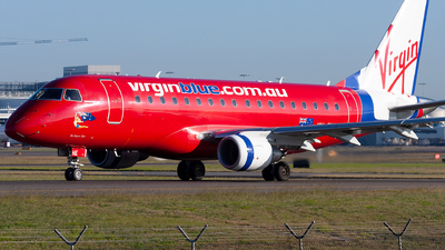 VH-ZHE - Embraer 170-100LR - Virgin Blue Airlines