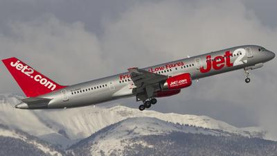 G-LSAG - Boeing 757-21B - Jet2.com