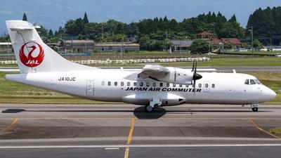 A picture of JA10JC - ATR 42600 - Japan Air Commuter - © Koki.Ishida