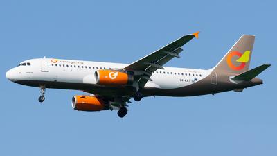 SX-KAT - Airbus A320-232 - Orange2Fly