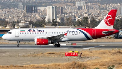 EP-TAD - Airbus A320-231 - ATA Airlines [Iran]