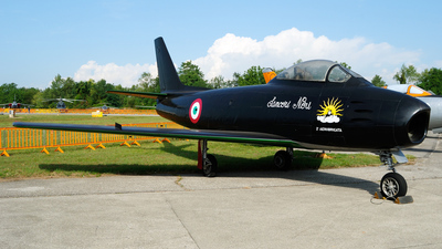 MM19596 - North American F-86E(M) Sabre - Italy - Air Force
