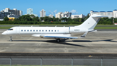 N165KD - Bombardier BD-700-1A10 Global 6000 - Private