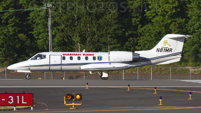 N81MR - Gates Learjet 35A - Guardian Flight