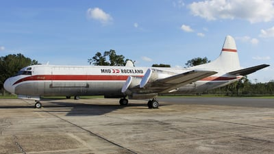 N282F - Lockheed L-188 Electra - Zantop International Airlines