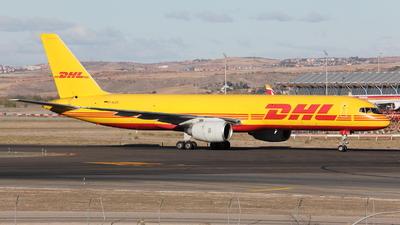 A picture of DALEG - Boeing 757236(SF) - DHL - © Maurizio Riva