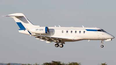 VP-CPF - Bombardier BD-100-1A10 Challenger 300 - Alliance Air