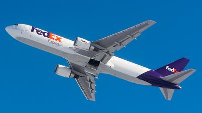 A picture of N157FE - Boeing 7673S2F(ER) - FedEx - © John Newsome