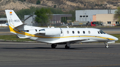 A picture of ECMSS - Cessna 560XLS+ Citation Excel - Gestair - © Mateo León