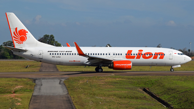 PK-LKU - Boeing 737-8GP - Lion Air