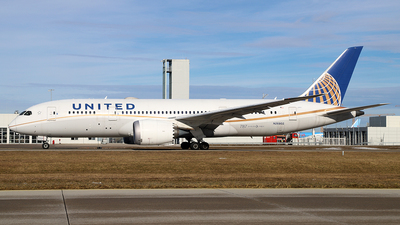 A picture of N26902 - Boeing 7878 Dreamliner - United Airlines - © Philipp Schuetz