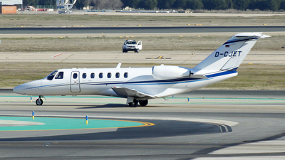 D-CJET - Cessna 525B CitationJet 3 - Private