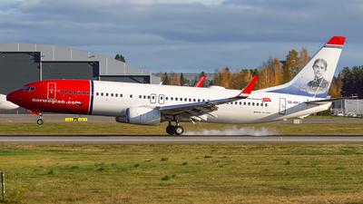 A picture of SERPJ - Boeing 7378JP - Norwegian - © Laszlo Fekete