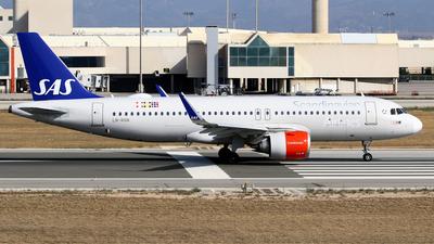 A picture of LNRGN - Airbus A320251N - SAS - © Javier Rodriguez - Amics de Son Sant Joan